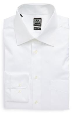 Ike Behar - Regular Fit Solid Dress Shirt