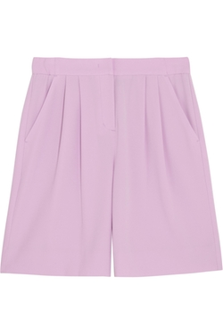 DKNY - Pleated Crepe Shorts