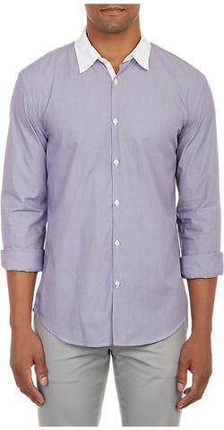 John Varvatos Star U.S.A.  - Contrast Collar Shirt