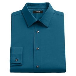 Apt. 9 - Slim-Fit Solid Stretch Dress Shirt