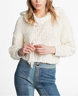 Free People  - Anemone Beach Hooded Pullover Sweater