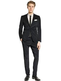 The Suits  - Stretch Cotton Velvet Suit