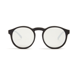 Le Specs   - Cubanos Round-Frame Mirrored Sunglasses