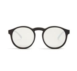 Le Specs   - Cubanos Round-Frame Mirrored Sunglasses
