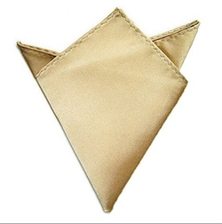 Dobelove - Solid Color Silk Satin Pocket Square