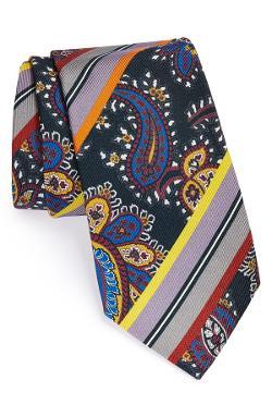 Etro  - Woven Silk Tie