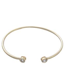 T&C Theodora & Callum - Metallic Glitz Bangle Bracelet