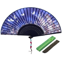 JSSWB - Silk Folding Fan