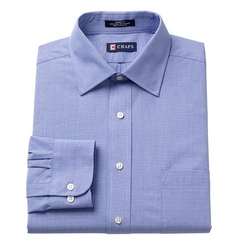 Chaps - Spread-Collar Dress Shirt