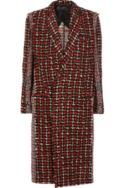 Haider Ackermann - Paneled Wool-Blend Tweed Coat