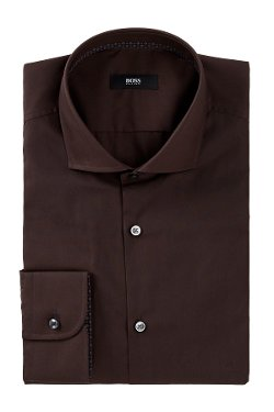 Hugo Boss  - Jery Slim Fit Solid Dress Shirt