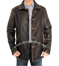 Desert Leather - Supernatural Distressed Brown Jacket