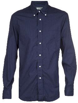 GITMAN BROS  -  button down plaid shirt