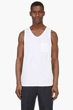 T BY ALEXANDER WANG - CLASSIC POCKET TANK TOP
