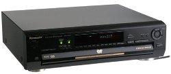 Panasonic - 5-Disc DVD Player
