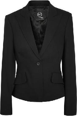MCQ ALEXANDER MCQUEEN - Ruffled woven blazer