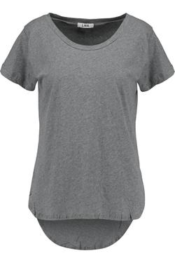 LNA - Crescent Slub Cotton-Jersey T-Shirt