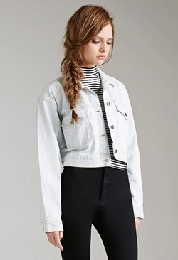 Forever 21 - Evil Twin Denim Jacket