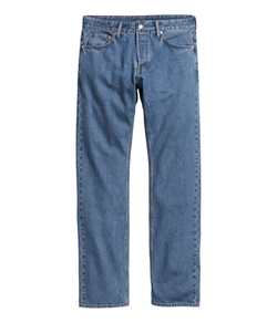 H&M - Straight Regular Jeans
