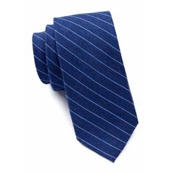 Calvin Klein - Dark Denim Pinstripe Tie