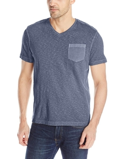 Kenneth Cole - V-Neck Pocket T-Shirt