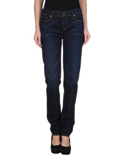 Paige - Straight Leg Denim Pants