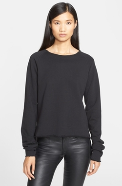 Helmut Lang - Cotton Terry Raglan Sweatshirt