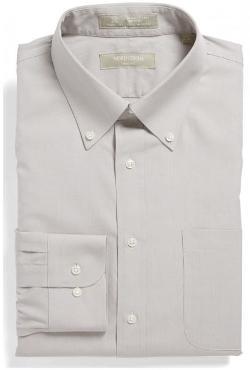 Nordstrom Smartcare - Wrinkle Free Trim Fit Dress Shirt