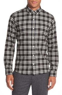 Bespoken - Slim Fit Check Sport Shirt