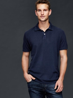 Gap - Solid Piqué Polo Shirt