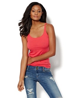 New York & Company - Skinny Cotton Tank Top