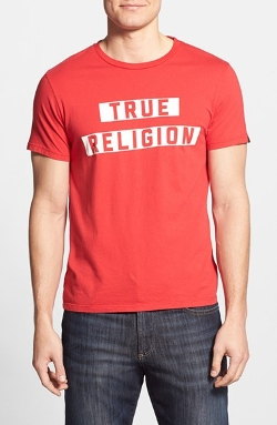 True Religion Brand Jeans - Block Print Graphic T-Shirt
