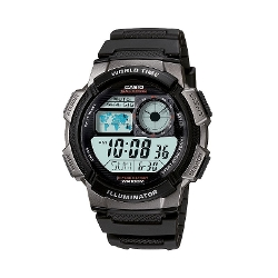 Casio - Analog & Digital Chronograph Fishing Watch
