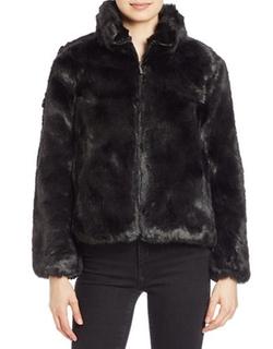 Michael Michael Kors - Faux-Fur Zip-Front Jacket