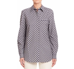 Lafayette 148 New York - Eternity Check Brody Blouse