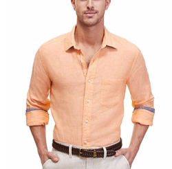 Nautica - Solid Linen Shirt