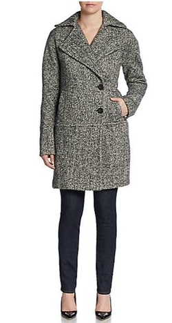 Calvin Klein - Tweed Coat