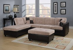CST - Upholstered Sectional Sofa