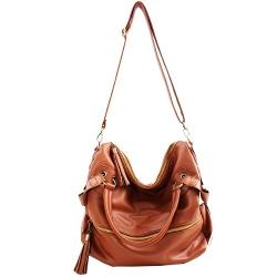 THG - Leather Hobo Bag