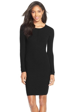 Marc New York - Ribbed Sweater Dress