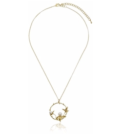 Panacea  - Delicate Pearl Pendant Necklace