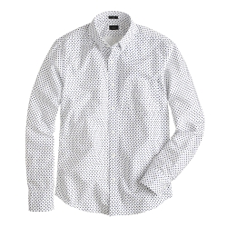 J. Crew - Slim Vintage Oxford Shirt in Daisy Print