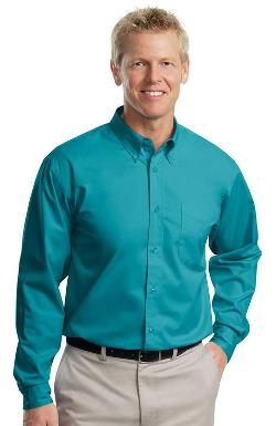Port Authority  - Button-Down Long Sleeve Shirt