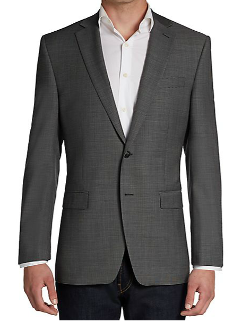 Calvin Klein  - Wool Two-Button Slim-Fit Sportcoat