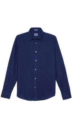 Hartford  - Slim Fit Cotton Voile Shirt
