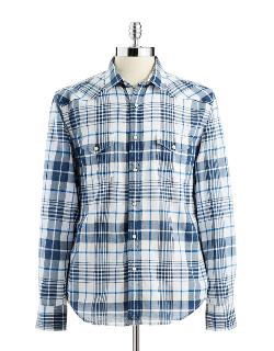 Lucky Brand  - Western-style Button-down Shirt