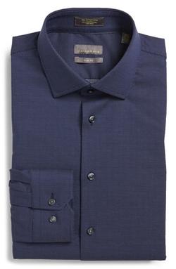 Calibrate  - Trim Fit Non-Iron Dot Dress Shirt