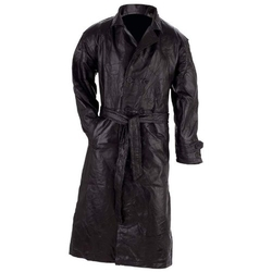 Giovanni Navarre - Genuine Leather Trench Coat