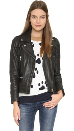 Paul & Joe Sister - Cabriolet Leather Moto Jacket