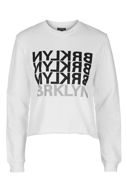 Topshop - Brooklyn Reflective Sweatshirt
